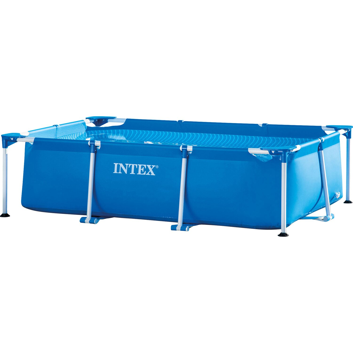 Intex rahmen pool set family 260 cm x 160 cm x 65 cm for Obi pool set