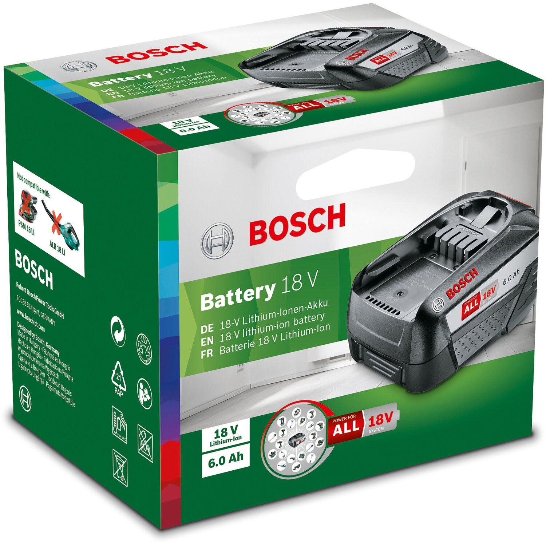 Bosch Ersatzakku 18 V 6 Ah