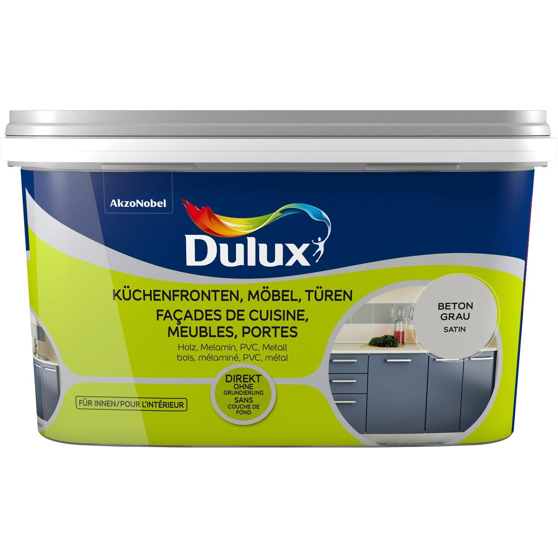 Dulux fresh up lack f r k chenfronten m bel und t ren satin beton grau 2 l kaufen bei obi - Mobel abholen lassen ...