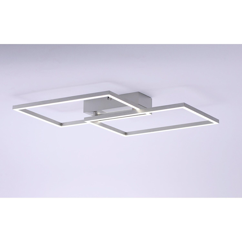 LED Deckenleuchte Iven Stahl 50,4 cm x 42 cm, 2700 5000 K