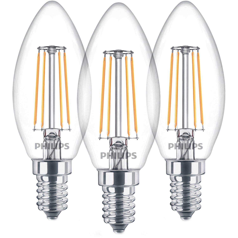 led lampen kerzenform klar warmweiß e14 dimmbar