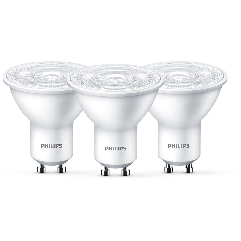 Philips GU10 LED Reflektor dimmbar Leuchtmittel 5W=50W Warmweiß Sparsam EEK A+
