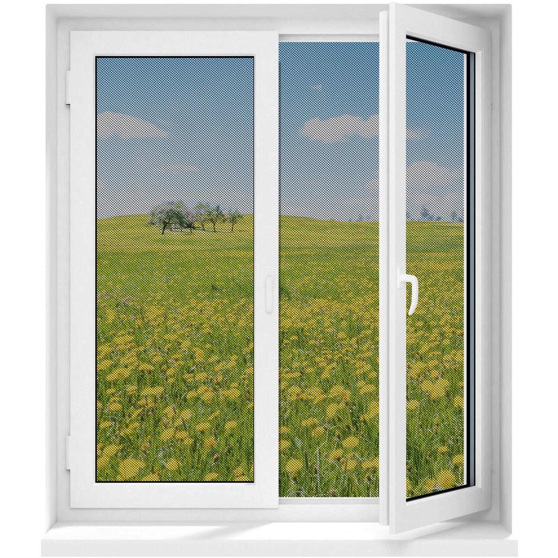 Easymaxx Fenster Moskitonetz Magic Klick Schwarz 150 Cm X 130 Cm Kaufen Bei Obi