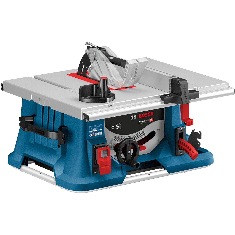 Bosch Professional Tischkreissäge GTS 635-216 mit Zusatzblatt Optiline Wood