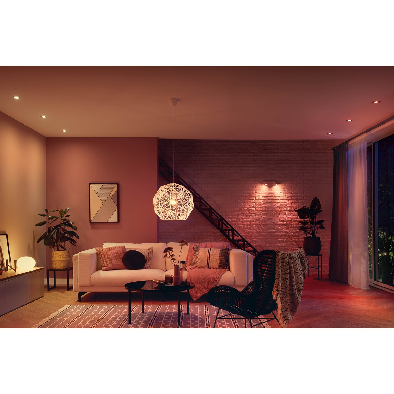 Philips Hue LED-Lampen White & Color 6er-Set RGBW E6/ 6,6 W EEK: A+