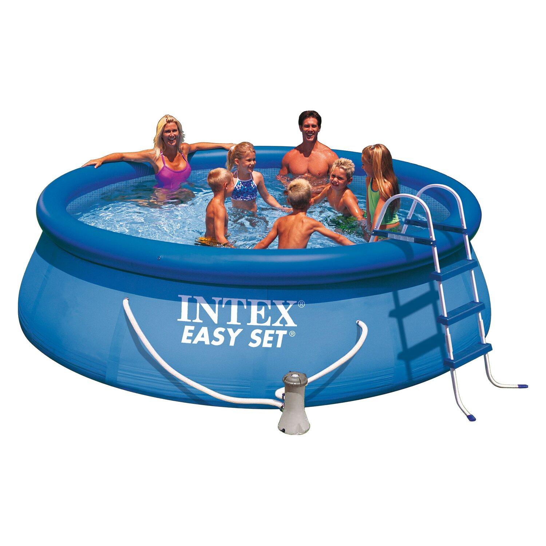 Whirlpool aufblasbar obi bestway familien pool x x cm for Schwimmbecken aufblasbar obi
