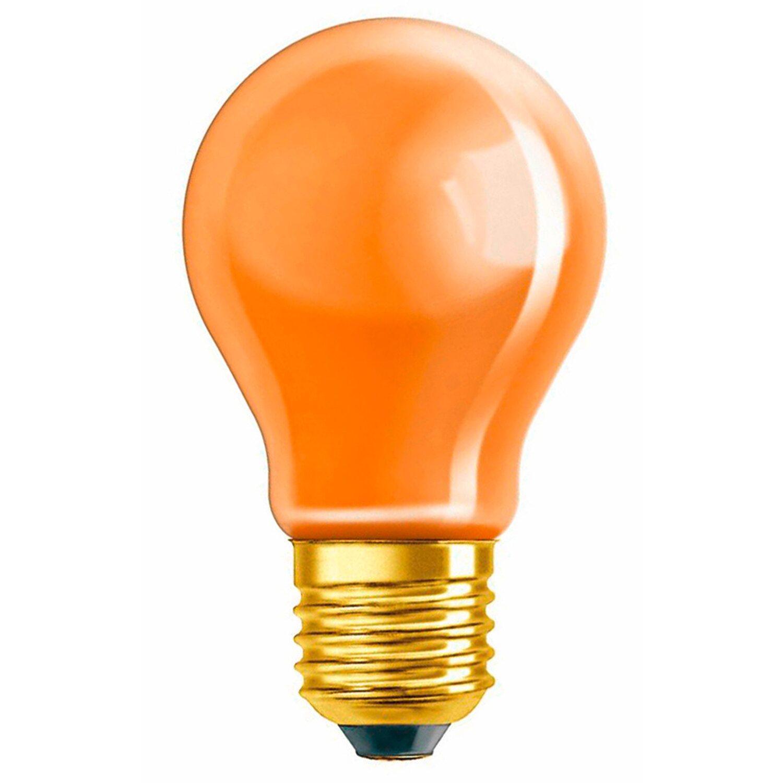 Osram Standard-Lampe EEK: E Glühlampenform E27 / 11 W (10 lm) Orange