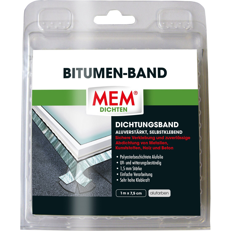 Bitumen Band Alu 7 5 cm x 1 m kaufen bei OBI
