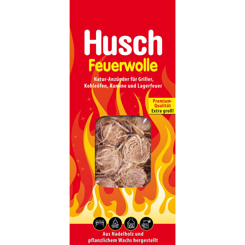 Husch  Feuerwolle 400 g