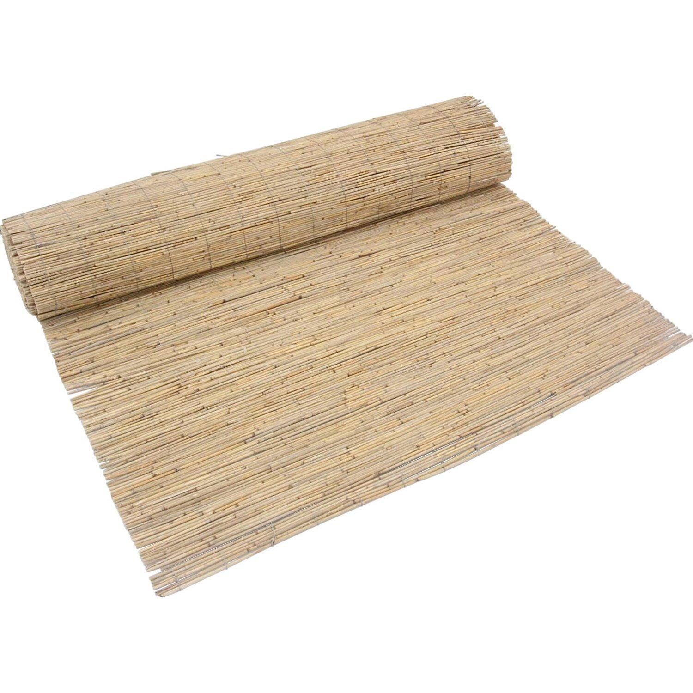 Bambusmatte 4 m Sichtschutzmatte Bambus Sichtschutz Windschutz 120 cm hoch