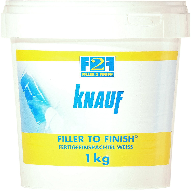 F2F - Fertigfeinspachtel Weiß 1 kg
