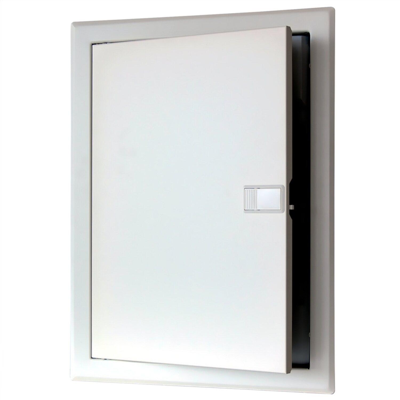 Hervorragend Unterputz Verteiler 2-reihig mit Metalltür IP 40 Weiß kaufen bei OBI KU64