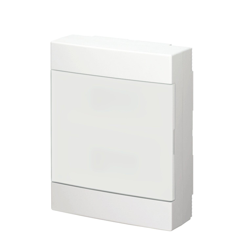 Hervorragend Aufputz-Verteiler 2-reihig mit Tür IP 40 Weiß kaufen bei OBI KU64