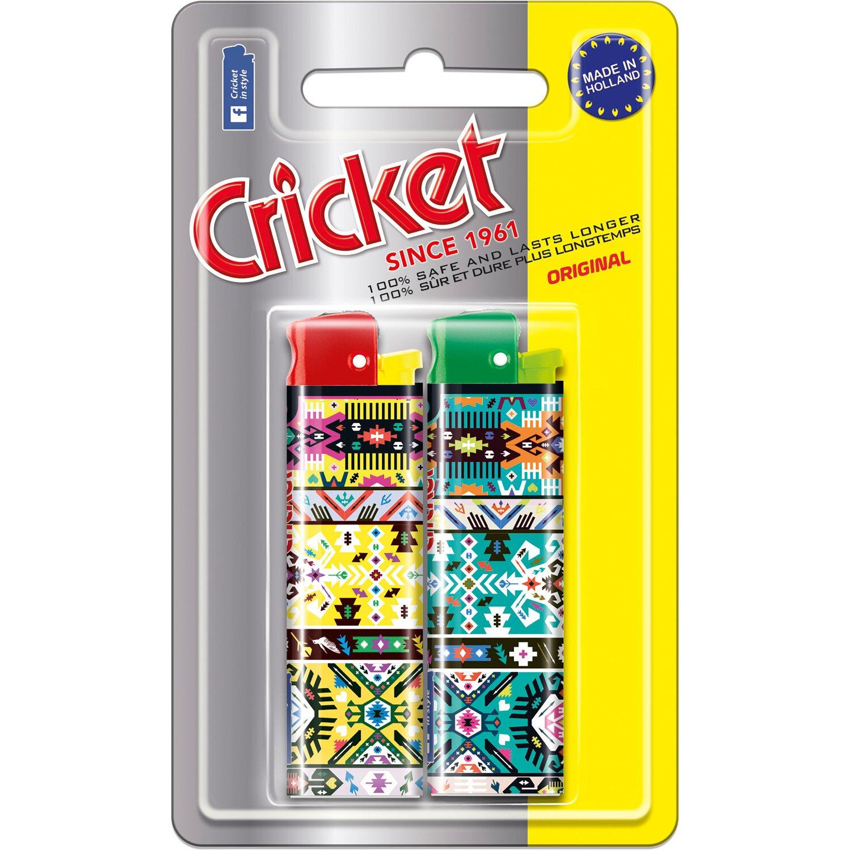 Cricket  Feuerzeug New Look 2 Stück