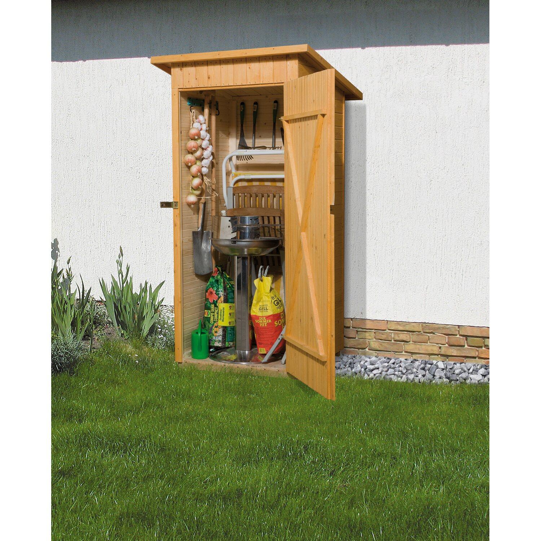 weka balkon und terrassenschrank mit pultdach gr 1 83 cm x 85 cm kaufen bei obi. Black Bedroom Furniture Sets. Home Design Ideas