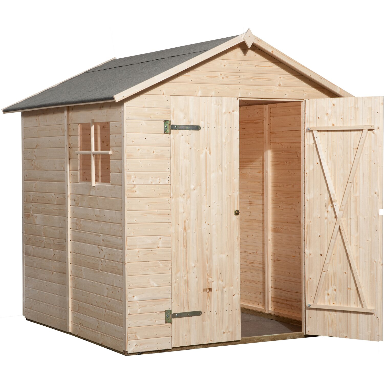 Weka Holz Gartenhaus Easy B Bxt 180 Cm X 186 Cm Kaufen Bei Obi