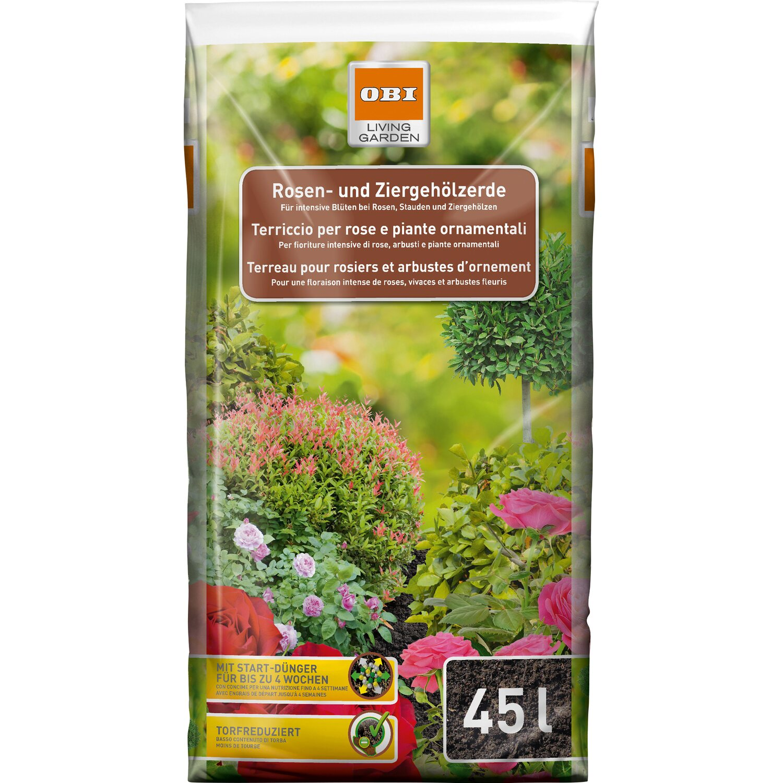 OBI Rosen- und Ziergehölzerde 1 x 45 l