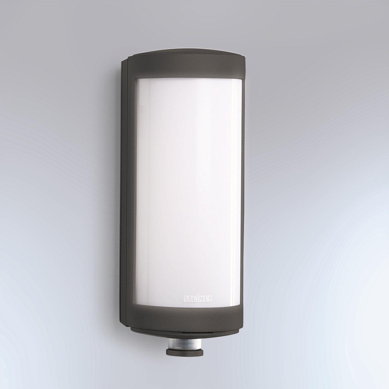Steinel Sensor LED Außenwandleuchte L 626 Anthrazit