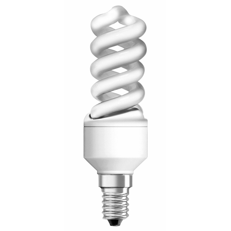 Osram Energiesparlampe Spiralform E14 / 9 W (48...