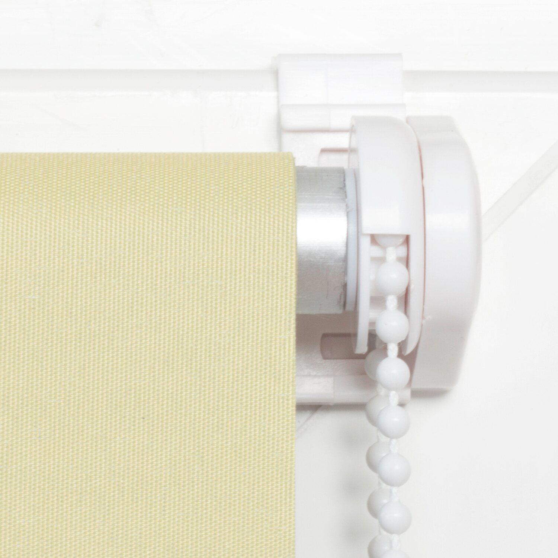 obi sonnenschutz rollo pamplona 140 x175 cm hellgr n. Black Bedroom Furniture Sets. Home Design Ideas