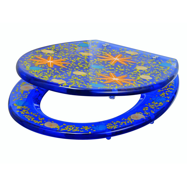 Gut gemocht OBI WC-Sitz Carduma Motiv Seestern Blau kaufen bei OBI FI75
