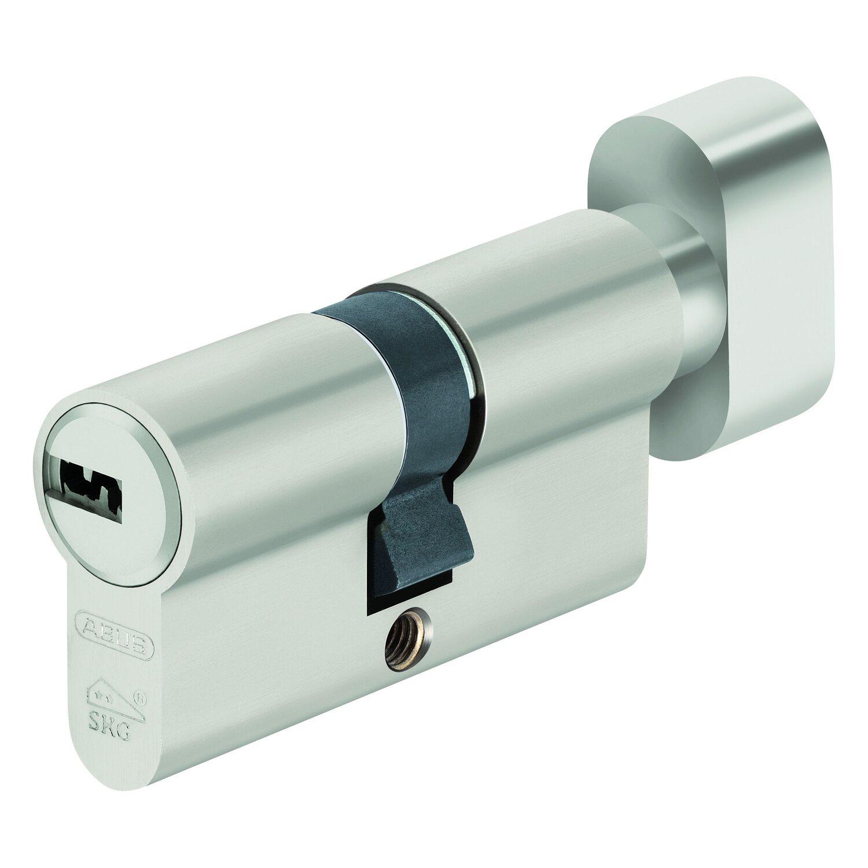 Abus  Profilzylinder D10NP 30/35 KA Nickel