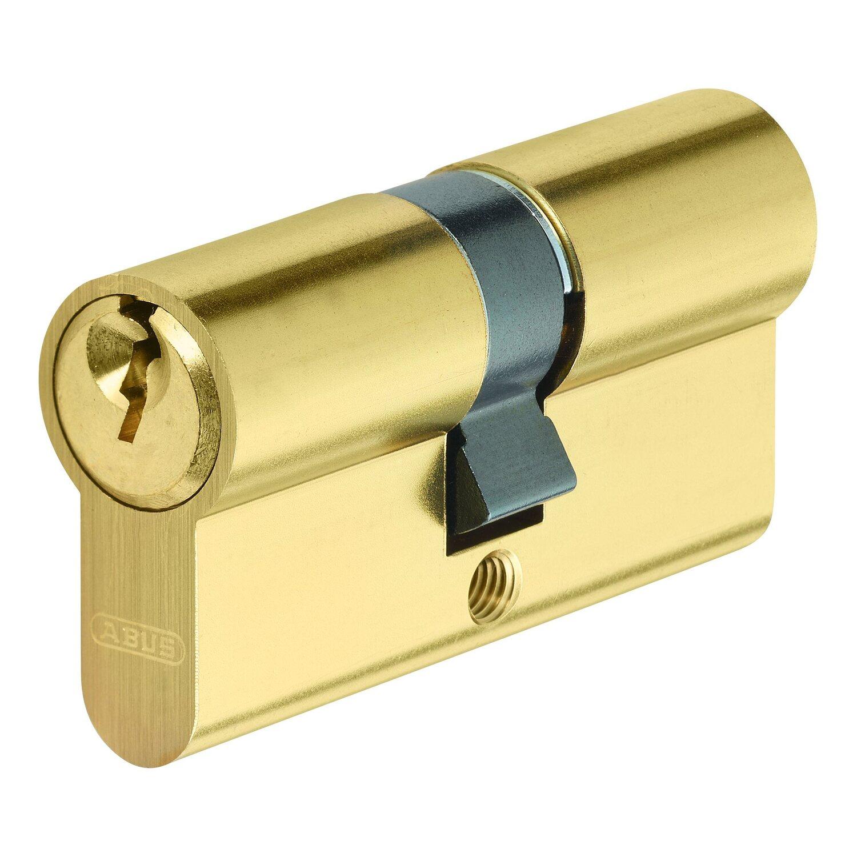 Abus  Profilzylinder E50MM 30/35 Messing