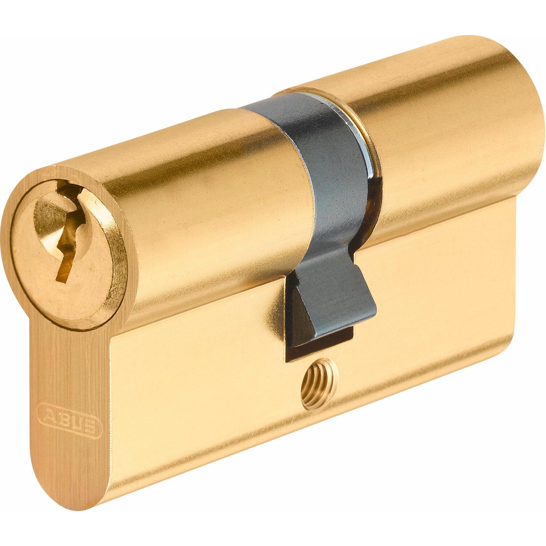 Abus  Profilzylinder E50MM 30/30 Messing