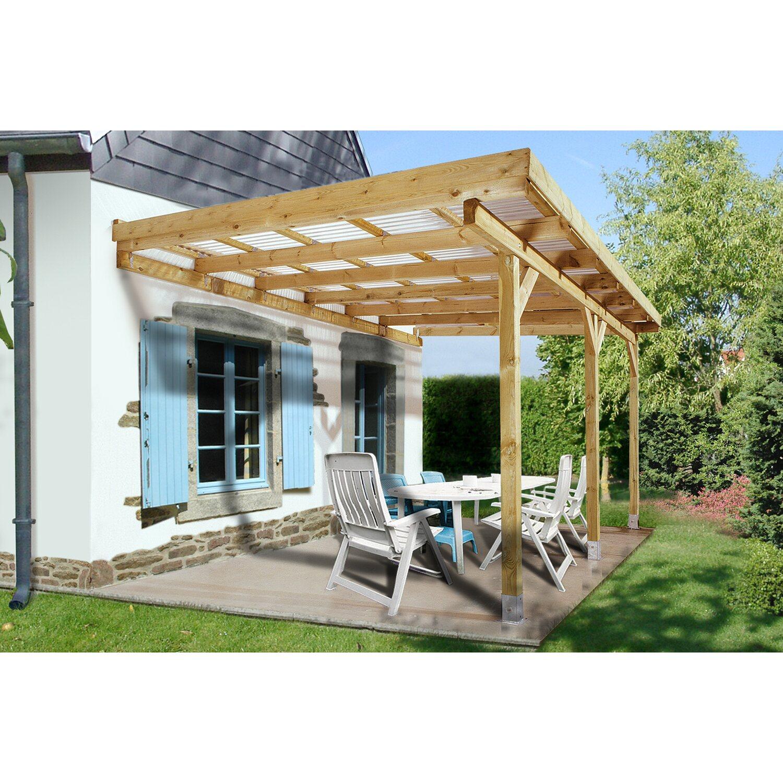 weka terrassen berdachung gr e 4 514 cm x 306 cm kaufen bei obi. Black Bedroom Furniture Sets. Home Design Ideas