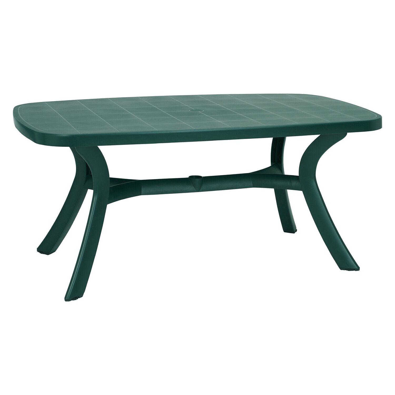 Tisch Kansas oval 192 cm x 105 cm Grün