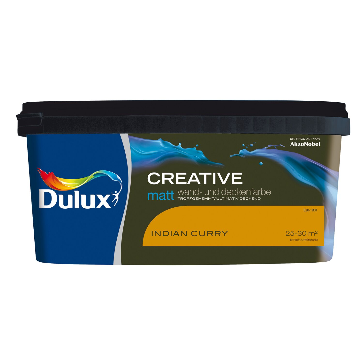 Dulux  Wand- und Deckenfarbe Creative Indian Curry matt 2,5 l