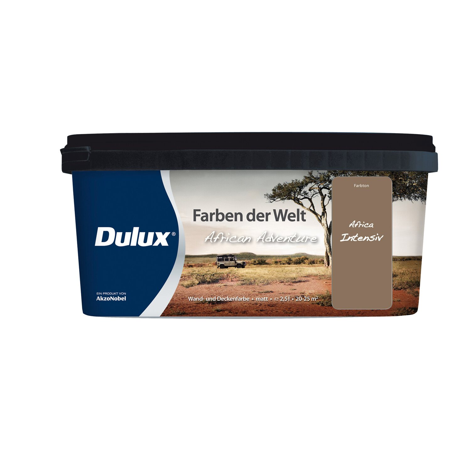 dulux wand und deckenfarbe farben der welt africa. Black Bedroom Furniture Sets. Home Design Ideas