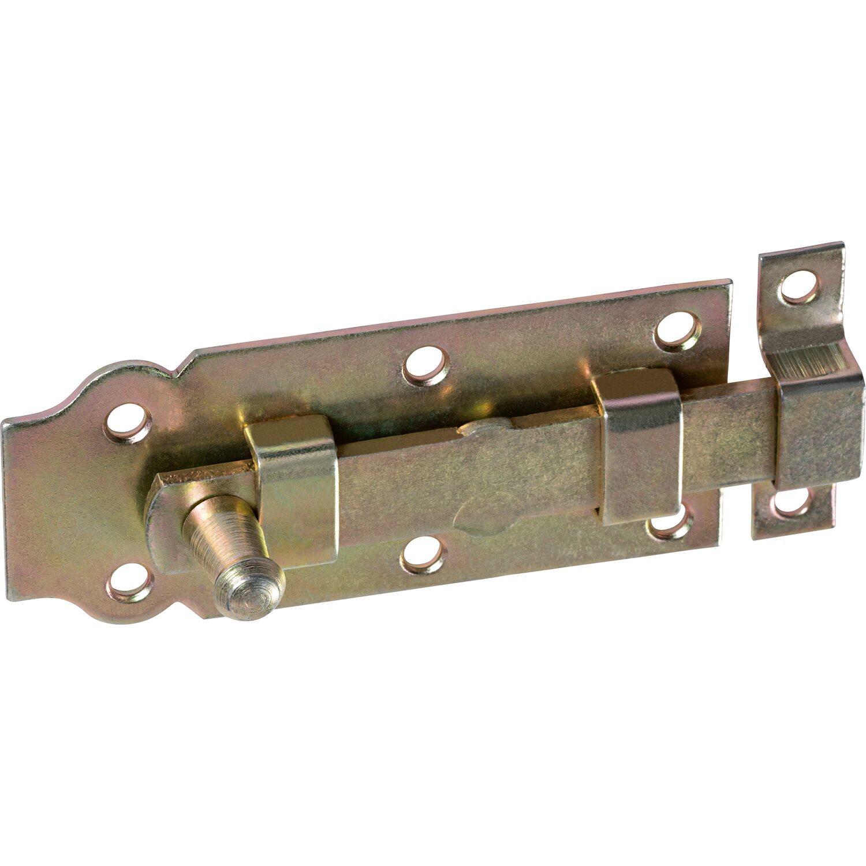 Relativ Türriegel mit Knopf Gelb Verzinkt 100 mm x 44 mm kaufen bei OBI OG87