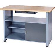 Werkbank 1 Tür 1 Schublade 1200 mm breit
