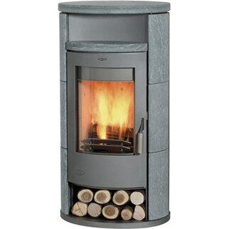 Elegant Fireplace Kaminofen Alicante Speckstein 8 KW
