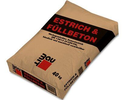 Baumit Estrich Fullbeton E 225 40 Kg Kaufen Bei Obi