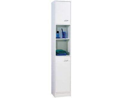 Fackelmann Badezimmerschrank Standard 185 Cm Weiss Kaufen Bei Obi