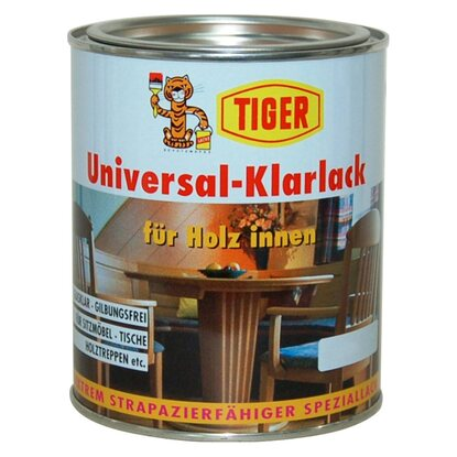 Universal-Klarlack Transparent matt 125 ml