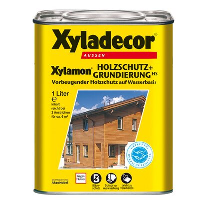 Xyladecor Holzschutz+Grundierung Xylamon Transparent 1 l