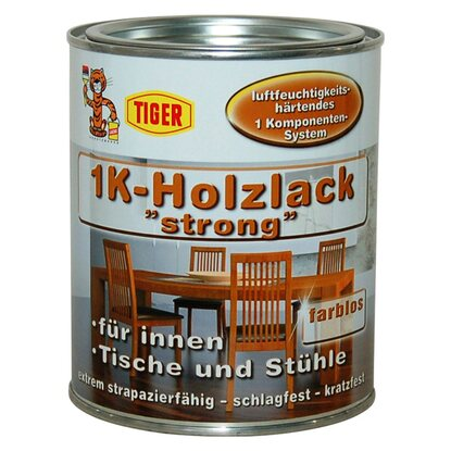 1K-Holzlack Strong Transparent matt 750 ml