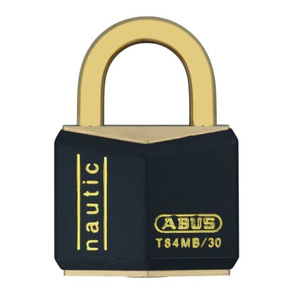 Abus Messing-Vorhangschloss T84MB/30 Triples