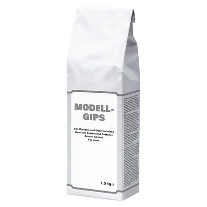 Modell-Gips Weiß 1,5 kg