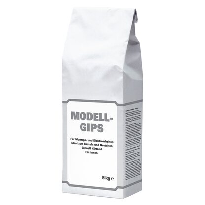 Modell-Gips Weiß 5 kg