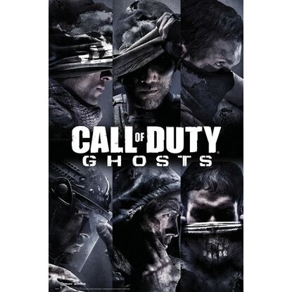 Maxiposter Call of Duty - Ghosts profiles 61 cm x 91,5 cm