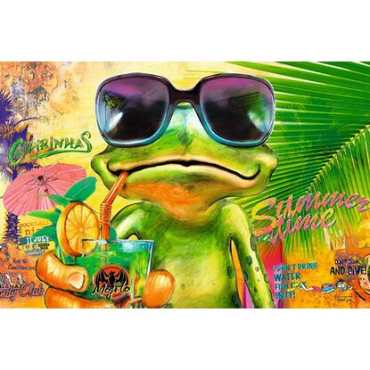 Maxiposter Michael Tarin - Summer time frog 61 cm x 91,5 cm