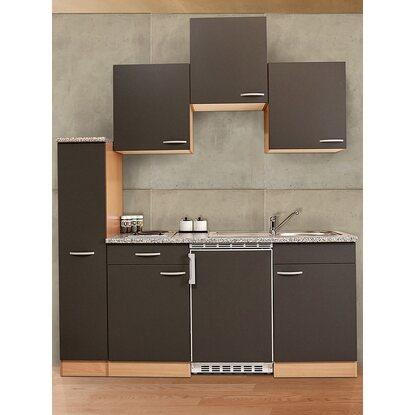 respekta k chenzeile kb180bg 180 cm grau buche nachbildung kaufen bei obi. Black Bedroom Furniture Sets. Home Design Ideas