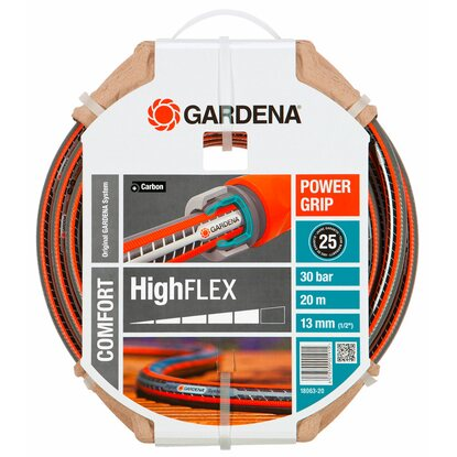 "Gardena Gartenschlauch Comfort HighFlex 13 mm (1/2"") 20 m mit PowerGrip 30 bar"