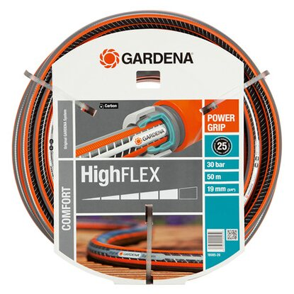 "Gardena Gartenschlauch Comfort HighFlex 20 mm (3/4"") 50 m mit PowerGrip 30 bar"
