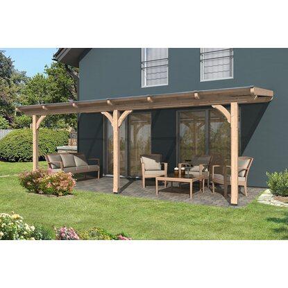 skan holz terrassen berdachung rimini 648 cm x 350 cm kaufen bei obi. Black Bedroom Furniture Sets. Home Design Ideas
