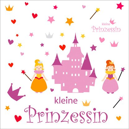 Eurographics Wandtattoo Little Princess